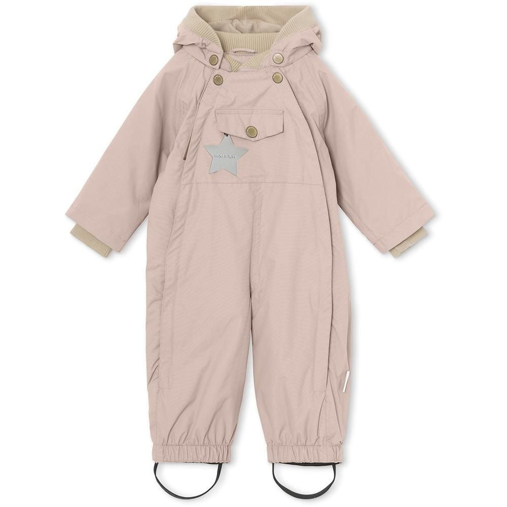 Mini A Ture Wisto Overall, Cloudy Rose