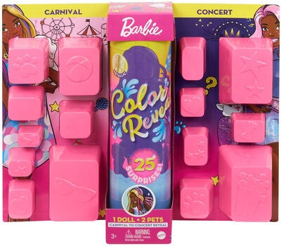 Barbie Color Reveal Carnival To Concert Puppe