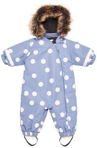 Petite Chérie Amour Winteroverall, Dots Country Blue