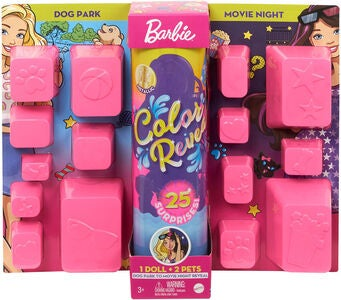 Barbie Color Reveal Park To Movies Puppe