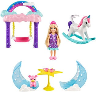 Barbie Dreamtopia Chelsea Pyjamaparty Spielset