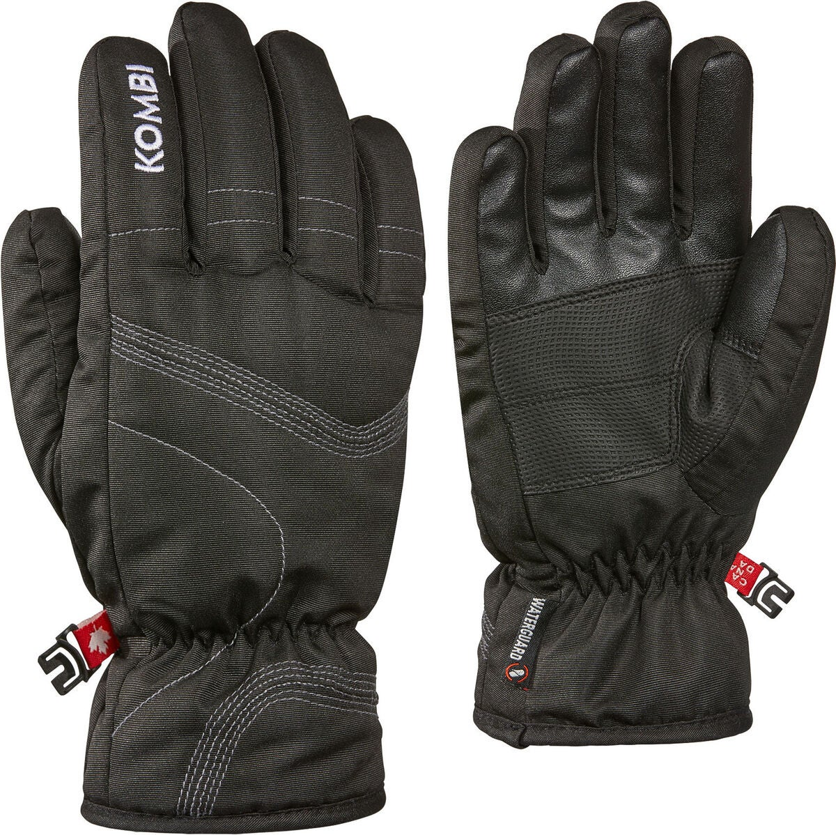Kombi Fire WG Handschuhe Jr, Black