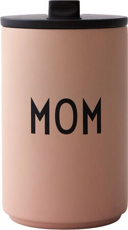 Design Letters Thermobecher Mom, Nude