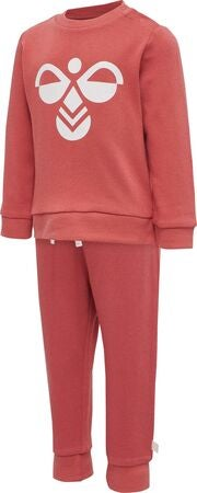 Hummel Arin Tracksuit, Faded Rose