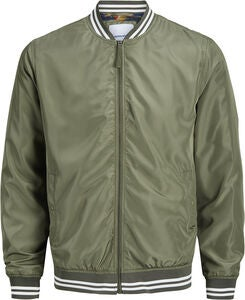 Jack & Jones Bahamas Bomberjacke, Dusty Olive