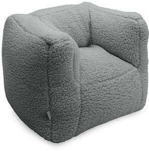 Jollein Sofa Beanbag Teddy, Cream Grey