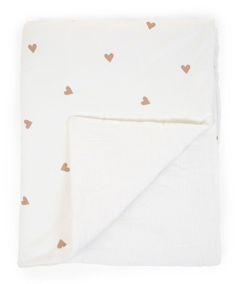 Childhome Decke Jersey Hearts