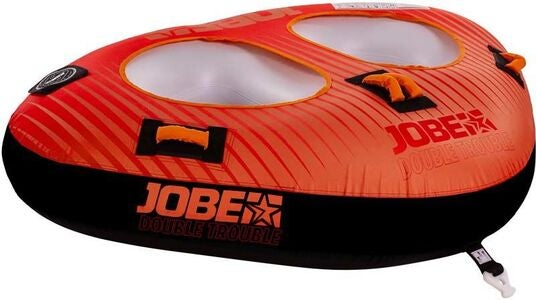 JOBE Double Trouble Towable Funtube, Rot