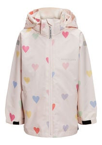 Nordbjørn Vinga Outdoorjacke, Heavenly Pink Hearts