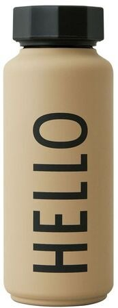 DESIGN LETTERS Special Edition Thermosflasche, Beige