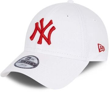 New Era NYY League Essential 9Forty Kappe, White