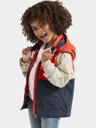 Didriksons Block Softshelljacke, Poppy Red