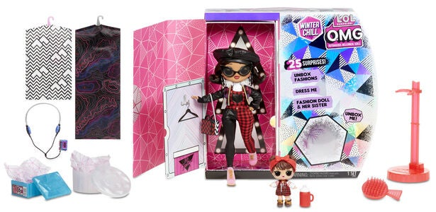L.O.L. Surprise! OMG Winter Disco 2.0- Doll 2