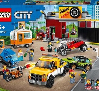 LEGO City Nitro Wheels 60258 Tuning-Werkstatt