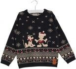Wheat Disney Micky Maus Strickpullover, Midnight Blue