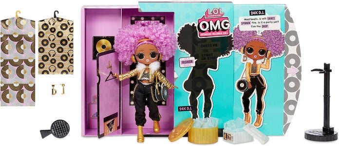 L.O.L. Surprise OMG 3.8 Doll - 24K DJ