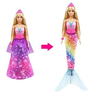 Barbie Dreamtopia Puppe 2-in-1 Prinzessin
