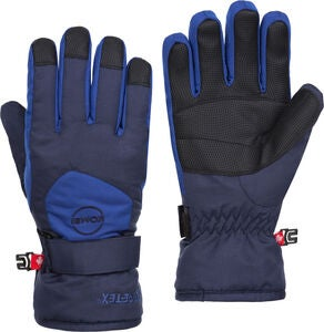 Kombi Ridge GTX Handschuhe Jr, Black/Nordic Blue