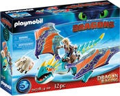 Playmobil 70728 Dragon Racing: Astrid und Sturmpfeil