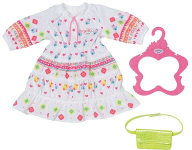 Baby Born Trendy Puppenkleidung Boho Kleid 43 cm
