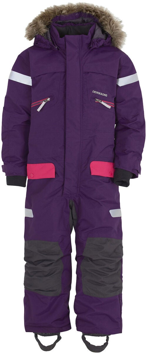 Didriksons Theron Overall, Berry Purple