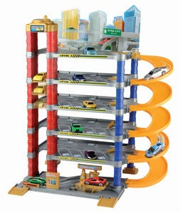 Motormax Dyna City 5-Level Parking Garage Spielset