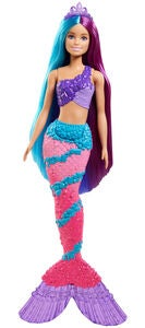 Barbie Dreamtopia Puppe Hairplay Mermaid