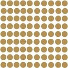 RoomMates Wallstickers Gold Confetti Dots