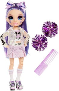 Rainbow High Cheer Puppe Violet Willow, Lila
