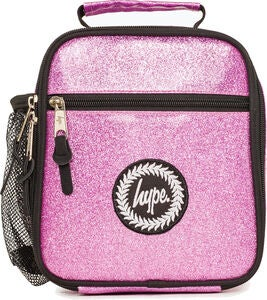 HYPE Lunchbox, Pink Glitter
