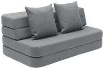KlipKlap 3 Fold Sofa XL, Blue Grey