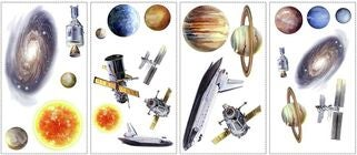 RoomMates Wallstickers Space Travel