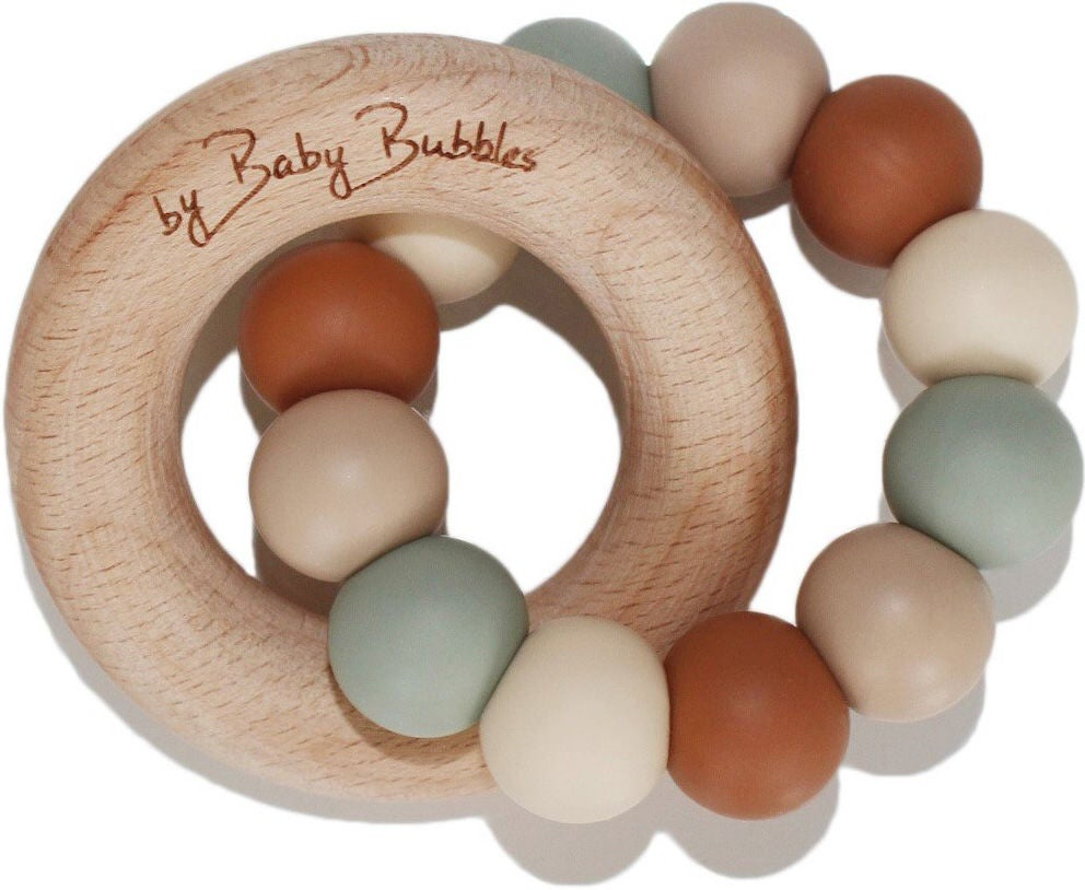 by Baby Bubbles Beißring, Earthy