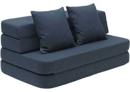 KlipKlap 3 Fold Sofa, Dark Blue