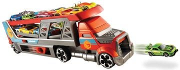 Hot Wheels Blastin' Rigg mit 3 Autos