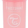 Twistshake Trinkhalmbecher 360 ml 6+ m, Pastel Pink