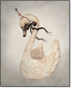 Mrs Mighetto Poster Dear Swan 40x50