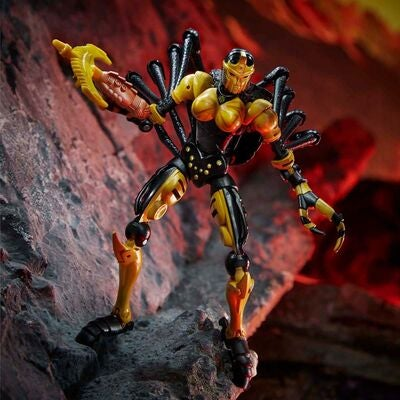 Transformers Figur War for Cybertron: Kingdom Black Arachina Deluxe