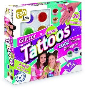 FAB LAB Glitzertattoos