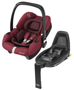 Maxi-Cosi Tinca Babyschale Inkl. Basis, Essential Red