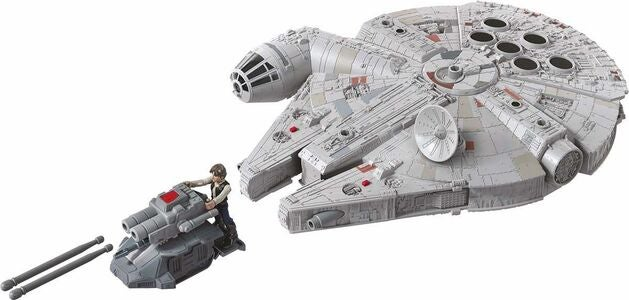Star Wars Mission Fleet Figur Han Solo Millenium Falcon