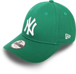 New Era NYY League Essential 940 Kappe, GRNWHI