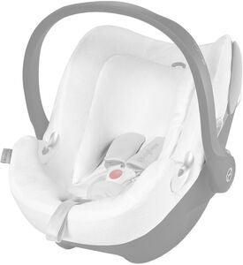 Cybex Aton Q Summer Cover, White
