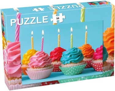 Tactic Puzzle Cupcakes 56 Teile