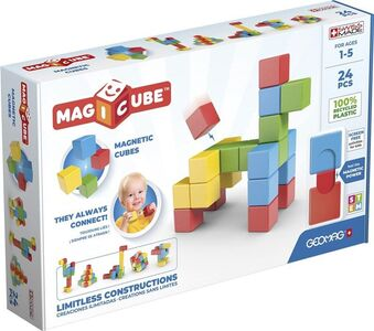 Geomag Bausatz Magicube Full Color Try Me 24