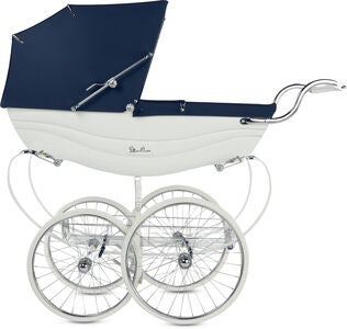 Silver Cross Balmoral Kinderwagen, White and Navy