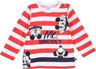 Disney Mickey Mouse Langärmliges T-Shirt, Red