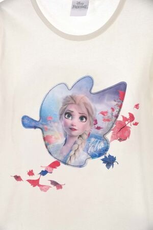 Disney Die Eiskönigin Langarmshirt, Off White