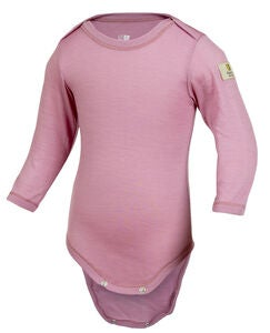 Janus Baby Lightwool Body, Dusty Rose
