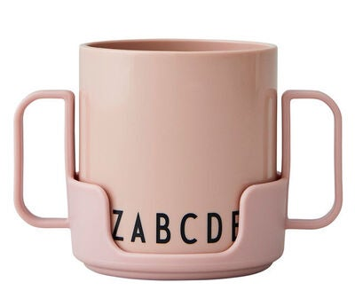 Design Letters Eat & Learn ABC Becher Tritan, Nude